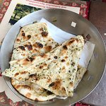 Garlic Naan (A type of Indian bread)