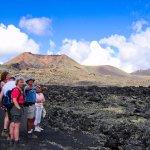 Senderismo en el Parque natural de Los Volcanes
