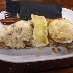 Tosta de 3 quesos (roque, brie y cabra)