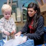 Object handling at a Toddler Takeover day