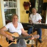 Innkeepers playing music in morning (Joanne & Albert)