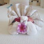 towel origami!