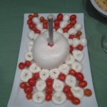 La zizzona come torta di compleanno