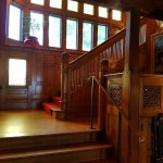 The staircase in the Main House
