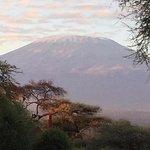 Views of Mt. Kilimanjaro