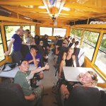 Our overland vehicles are spacious seating up to 24 passengers. Small group tours seat maximum 1