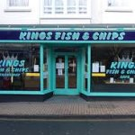 Kings fish and chips cafe Foto