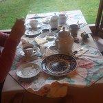 arrasando el show de té