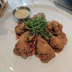 Fried quail legs