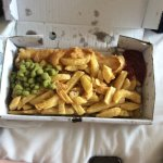 £9.10 for cod and chips with peas
