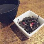 Strawberry ginger peppercorn tea from Tea Guys.