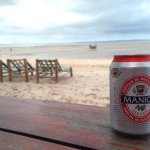 This is the best beach restaurant in Vilankulo. Colin makes the Piri-piri sauce - amazing!