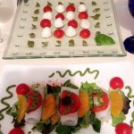 Two of the delicious starters