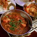 Chicken Bhuna and Karahi