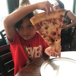 The slices are bigger than your head!
