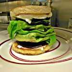 Goat Cheese & Red Beet Stack Appetizer