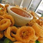 Seasoned Calamari Appetizer