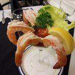 Jumbo Shrimp Martini Appetizer