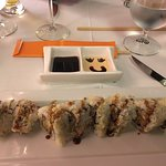 Spider-soft shell crab tempura rolls