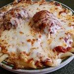 Mostaccioli with Meatballs