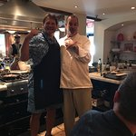Our host for the evening, Michael Ulizio, with Chef Trey. Simply amazing!
