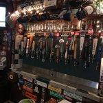 Big selection of beers.
