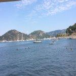 Fantastic views from beach