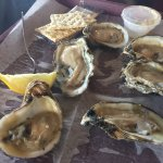 The oysters seemed a little small, but were tasty.