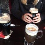 Irish Coffee was perfect