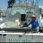 140 pound Striped Marlin