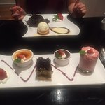 Fallen Chocolate and Desert Tasing Plate