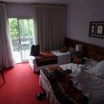 comodas las camas, ruidosa la habitacion, el aire acondicionado de las habitaciones se quedan co