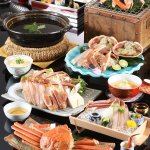 Matsuba crab full course kaiseki dinner (avail: Nov 7 - Mar 20)