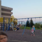 Great play areas on a hot summer night.