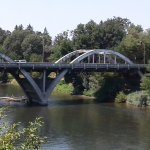 Caveman bridge over he famous Rogue River