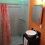 Shower & room sink