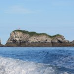 Gull Rock from boat ride