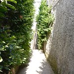 walk way to arrive at Villa Amore