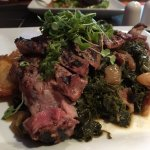 NY Strip with kale