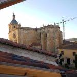 Vista de la Catedral desde habitación cuádruple.