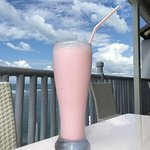 Strawberry milkshake!