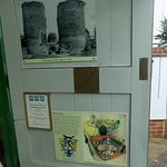 Bungay Castle Visitor Centre and cafe!