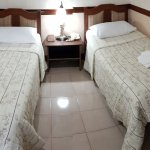 Our standard room with twin bed