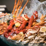 Seafood Counter at Sunday Brunch