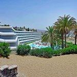 Aussicht auf Hotel Santa Monica & Strand