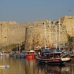 Kyrenia Harbour and Kyrenia Castle
