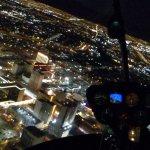 Vistas desde el helicóptero