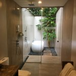 Palmera Glass Villa shower/bath