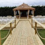 Outside Pagoda available for Weddings and Events