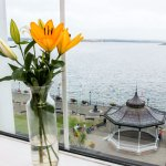 View from Seaview Room onto Victorian Promenade & Bandstand